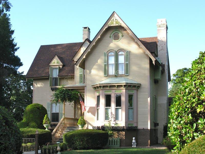 Une maison victorienne photo libre de droits