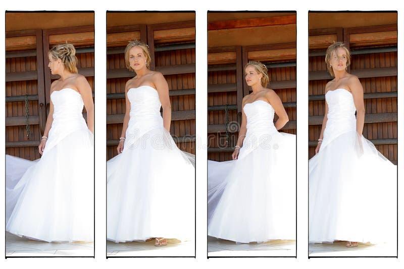 Une mariée de mariage photos libres de droits