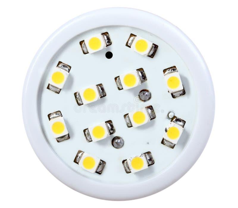 Mener-lampe économiseuse d'énergie photographie stock libre de droits