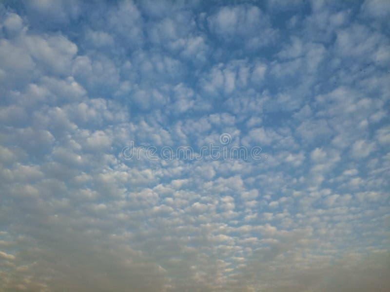 Une mer des nuages photographie stock