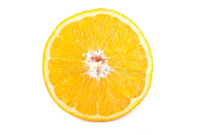 Une moitié d'orange images libres de droits