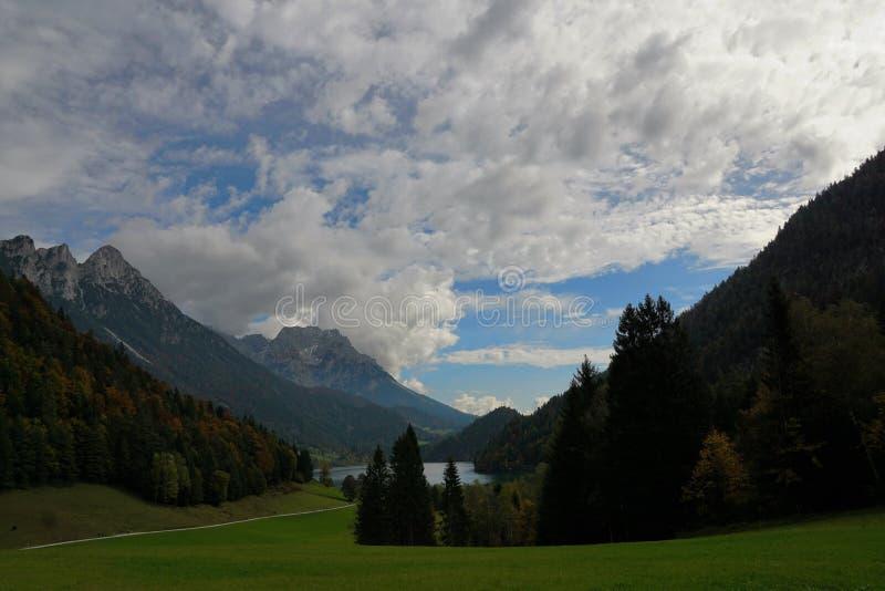 Une montagne plus sauvage de kaiser en Autriche images libres de droits