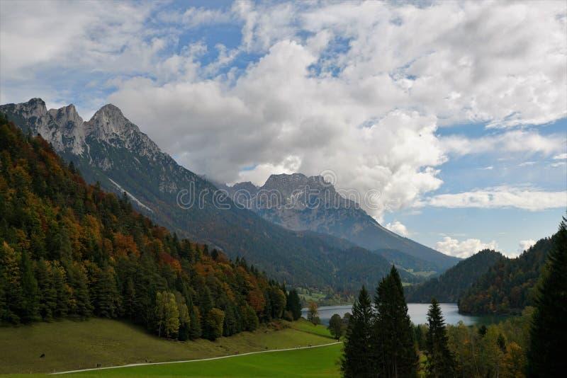 Une montagne plus sauvage de kaiser en Autriche images stock
