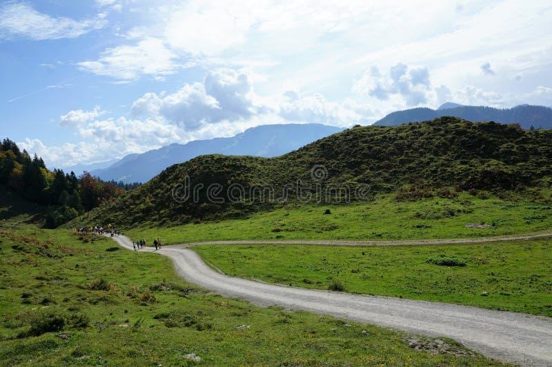 Une montagne plus sauvage de kaiser en Autriche photographie stock
