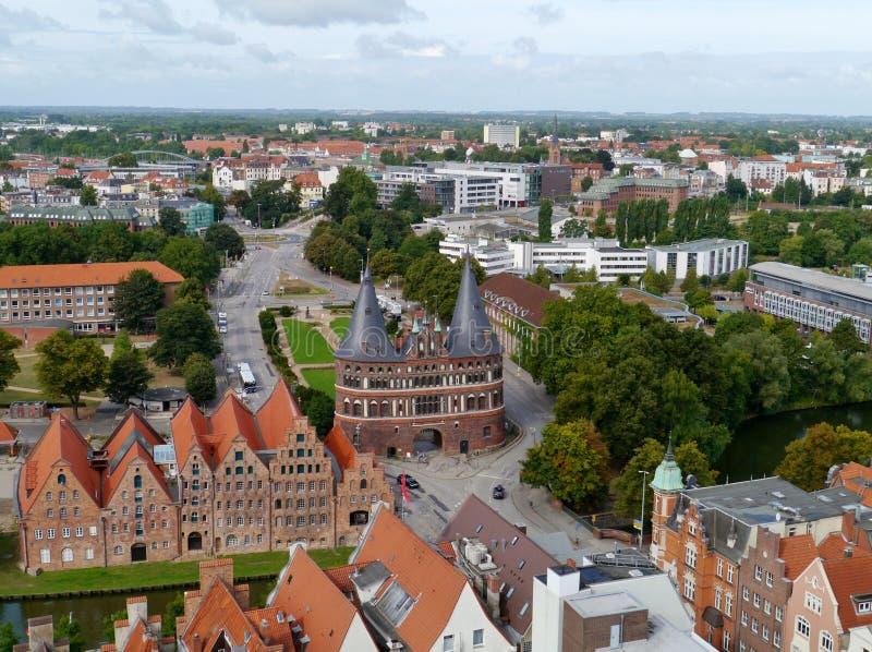 Une négligence de Luebeck en Allemagne photos stock