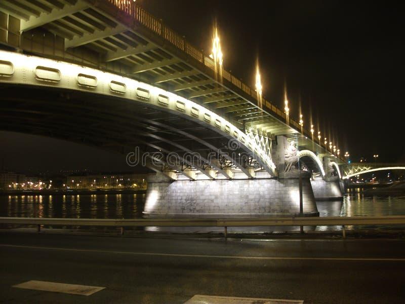 Une nuit de beauté à Budapest photo stock