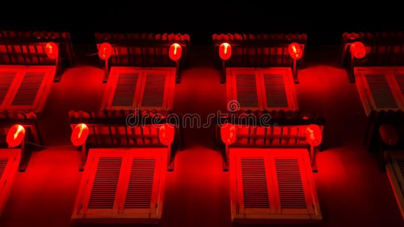 Une nuit en Chine images stock