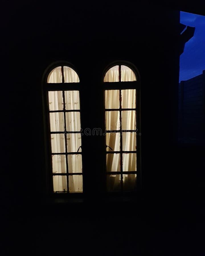 Une nuit foncée et morne photographie stock