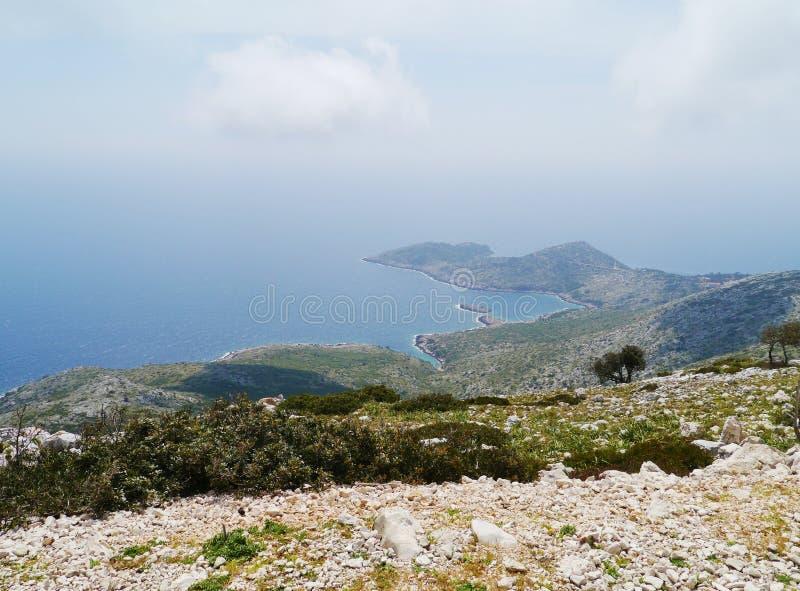 Une péninsule dans l'humidité photo libre de droits