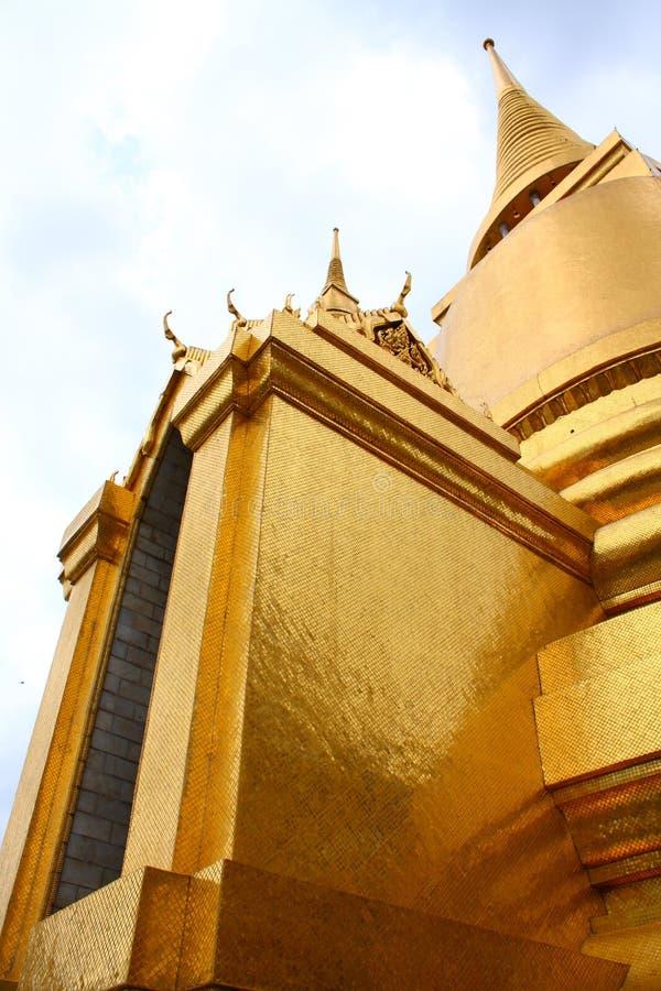 Une pagoda d'or image libre de droits