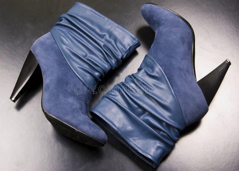 Une paire de gaines bleues photographie stock libre de droits
