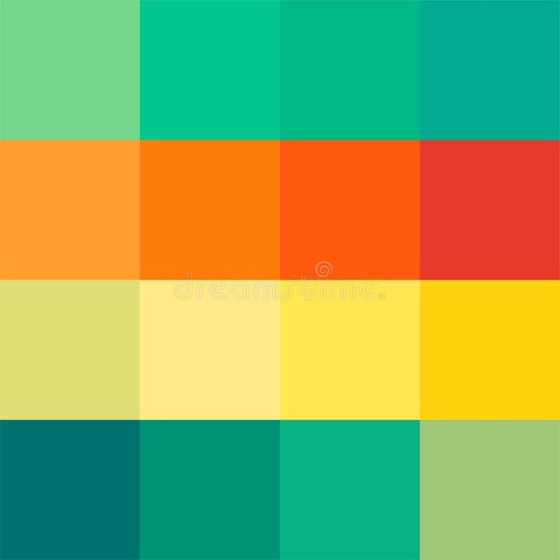 Une palette intéressante avec des couleurs originales Palette de dessin Fond pour des enfants Fond pour l'illustration places Le  images stock