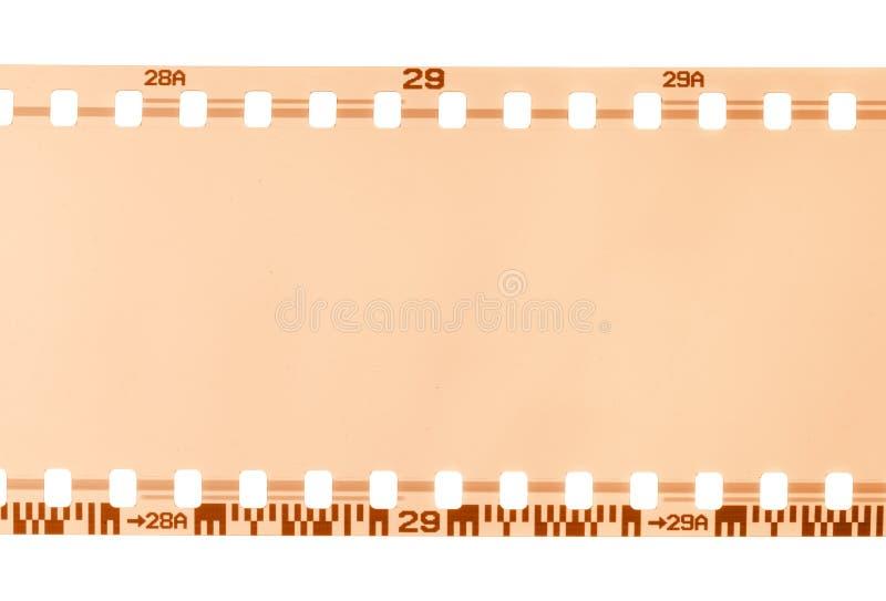 Une partie de film de 35 millimètres image stock