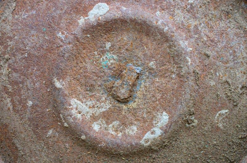 Une partie de surface rouillée de fer images libres de droits