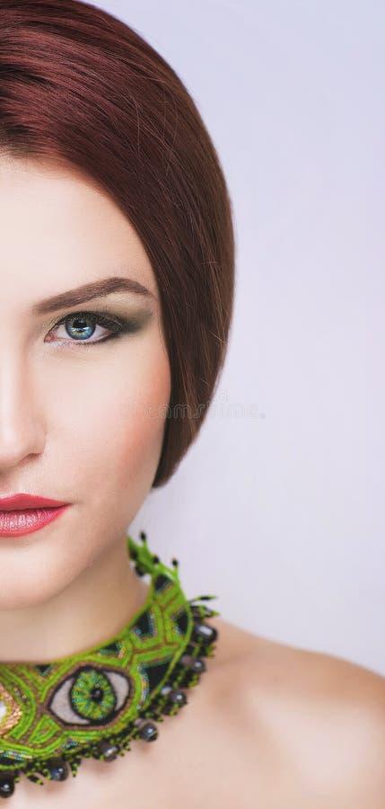 Une partie de visage photographie stock