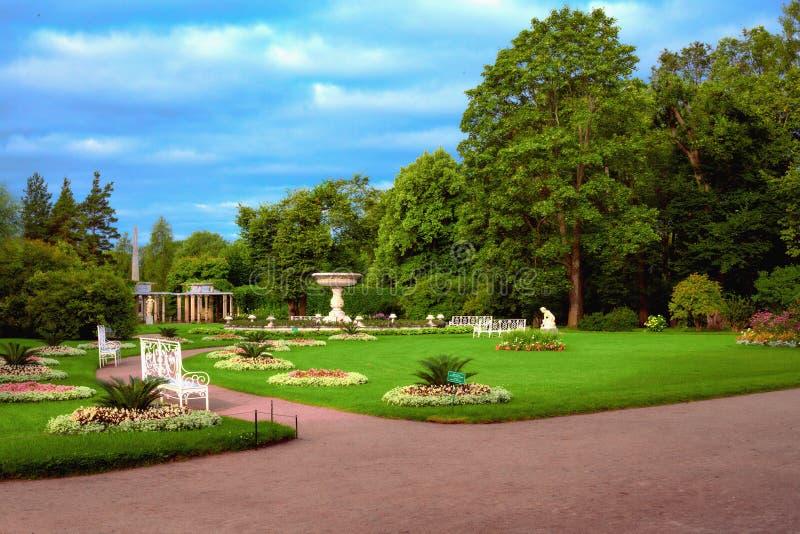 Une partie du parc du ` s de Catherine, appelée photo libre de droits