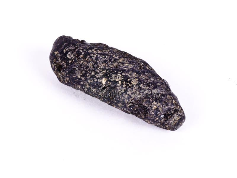 Une petite météorite noire photos libres de droits