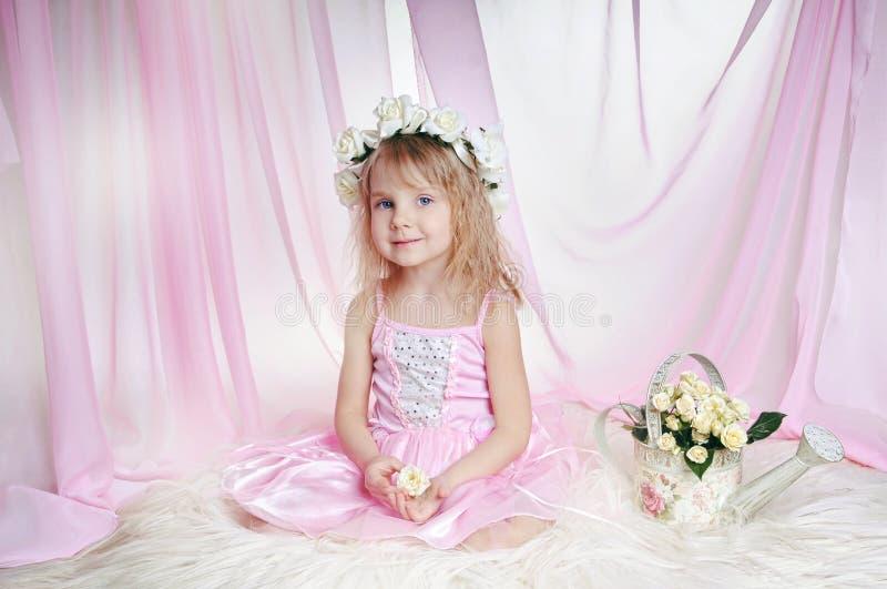Une petite princesse image stock