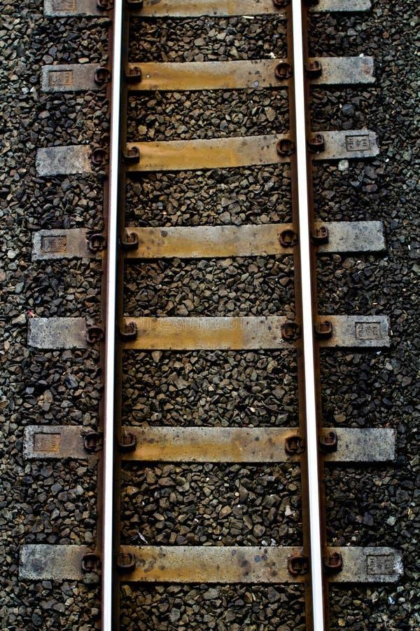 Une piste de train image stock