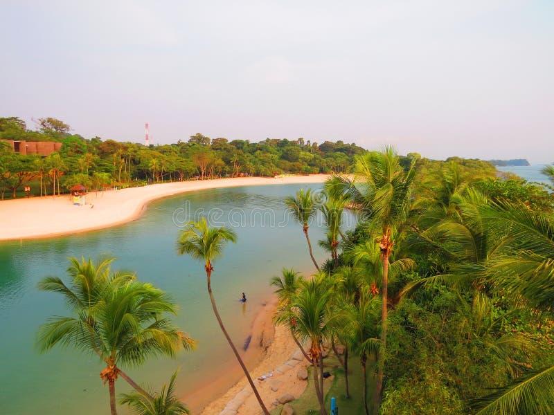 Une plage photographie stock libre de droits