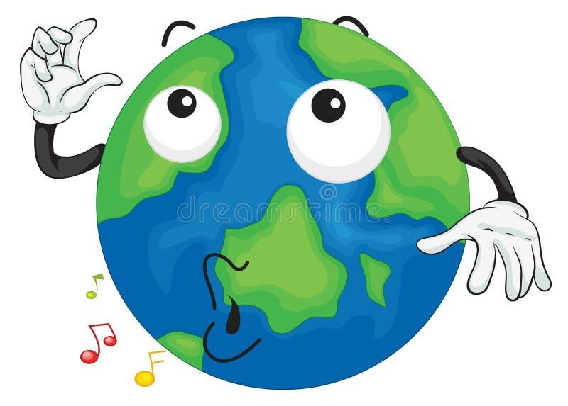 Une planète de la terre illustration stock