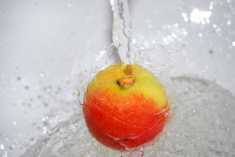 Une pomme images libres de droits
