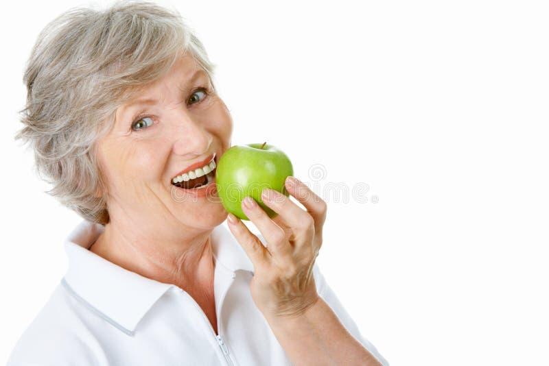 Une pomme photo stock