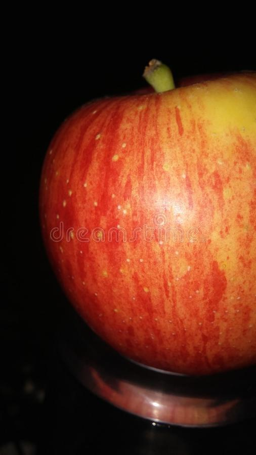 Une pomme photos stock