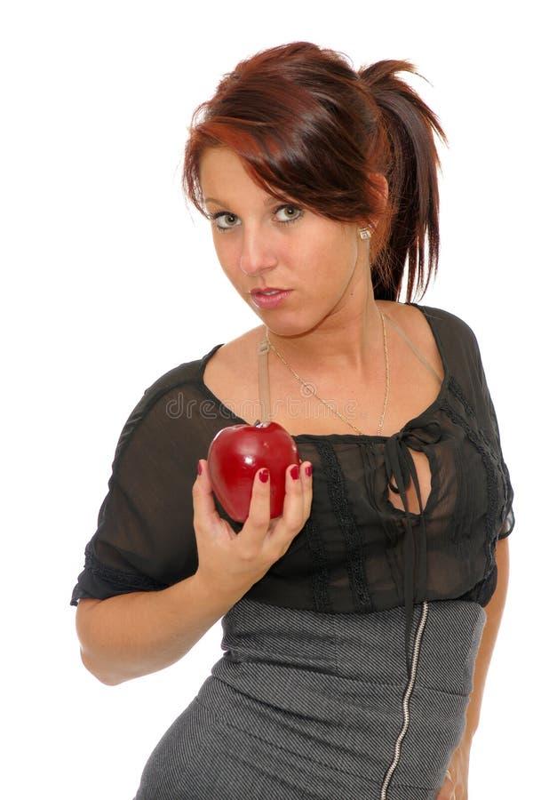 Une pomme par jour photo libre de droits