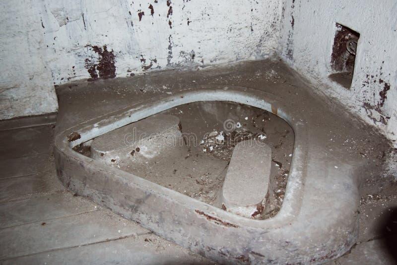 Une prison communiste commémorant les atrocités et les pratiques communistes de la torture et imposant la confession photo stock