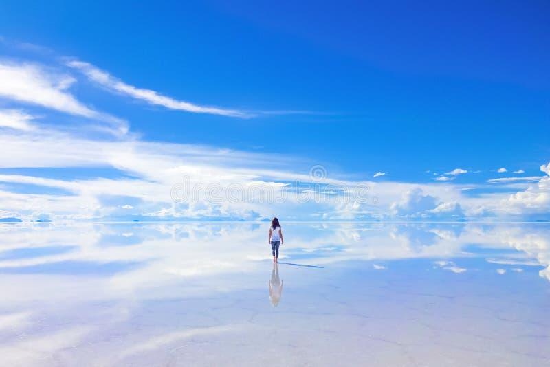 Une promenade dans l'horizon photo libre de droits