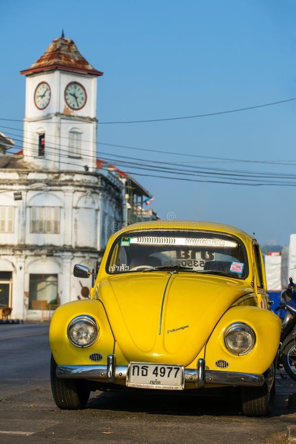 Une rétro voiture de Volkswagen images libres de droits