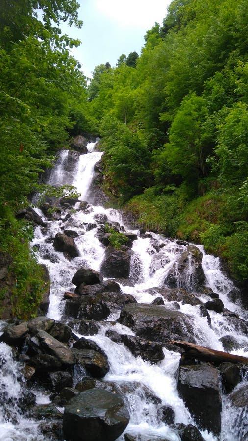Une rivière de montagne image libre de droits