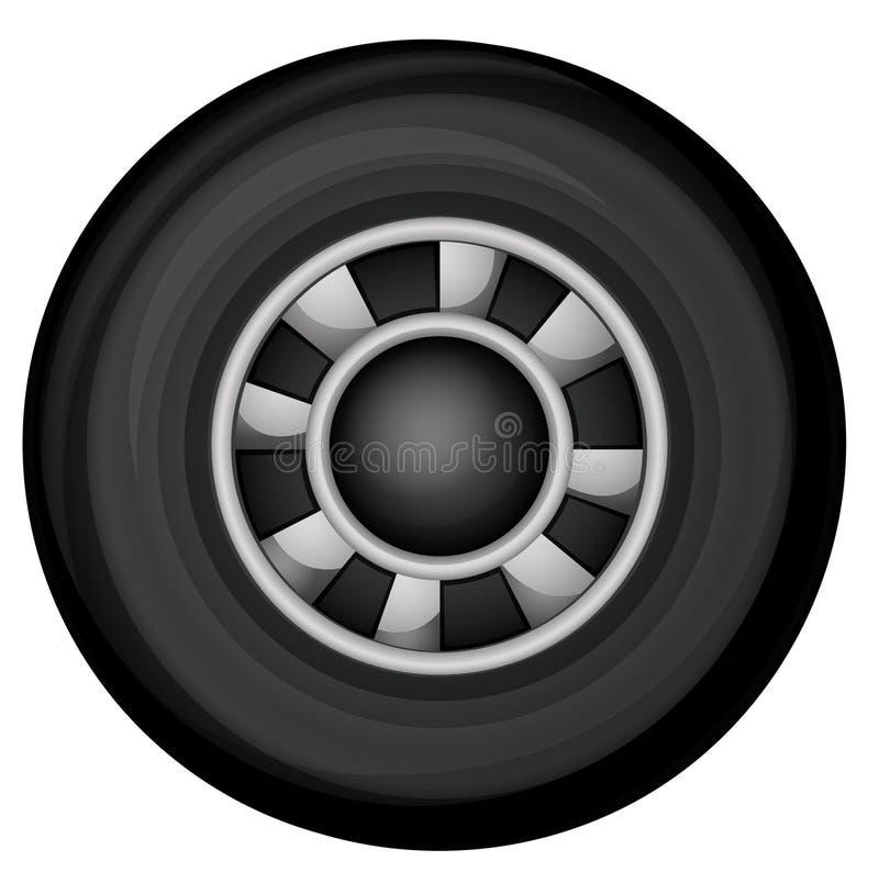 Une roue illustration de vecteur