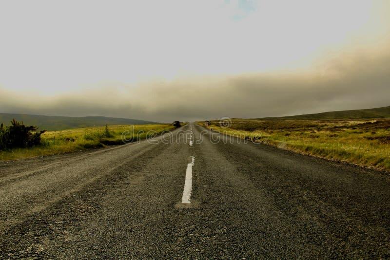 Une route abandonnée photographie stock