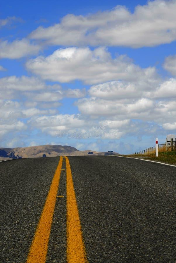 Une Route En Nouvelle Zélande Photos libres de droits