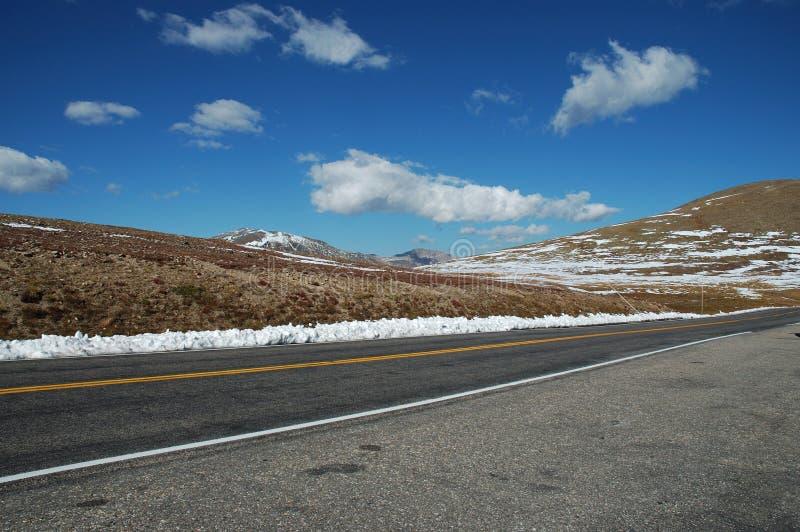 Une route en stationnement d'Estes photos libres de droits