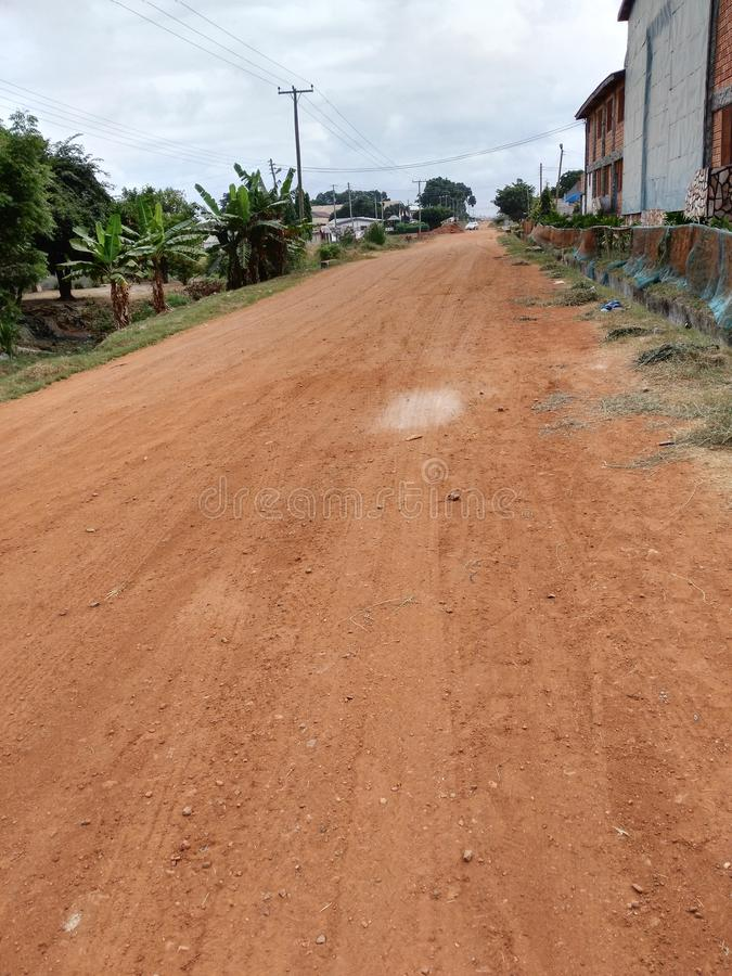 Download Une Route Locale Unconstructed Image stock - Image du ghana, local: 76089785