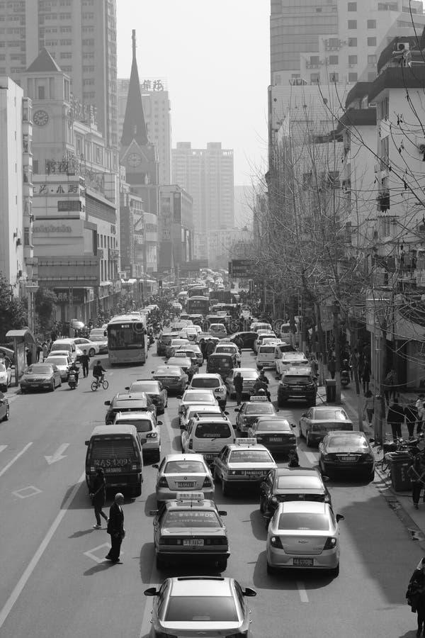 Les rues de la Chine photo stock