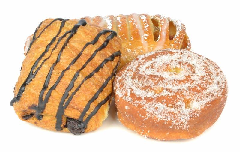 Une sélection des gâteaux image stock