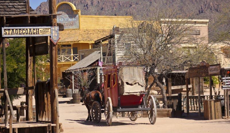 Une scène dans vieux Tucson, Tucson, Arizona image libre de droits