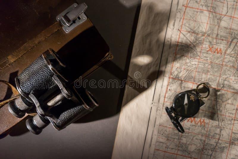 Une scène de commande de bataille photographie stock libre de droits
