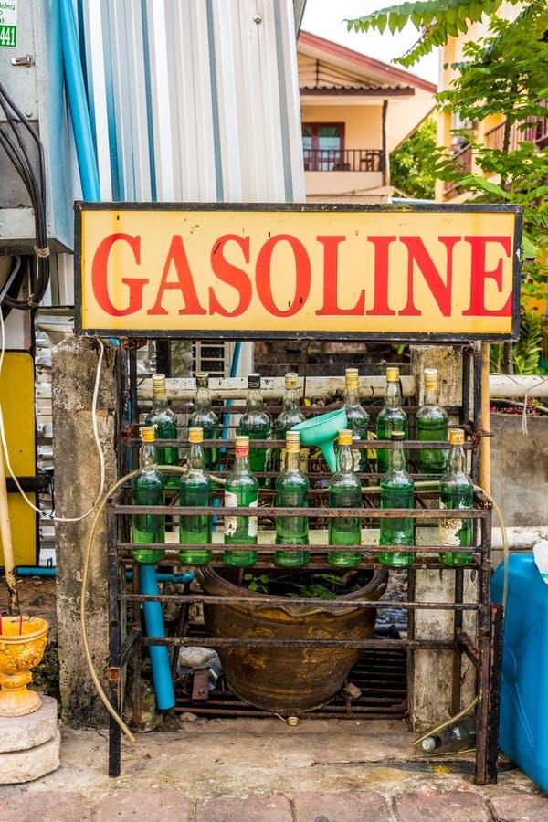 Une scène typique dans Karon Phuket Thaïlande photos libres de droits