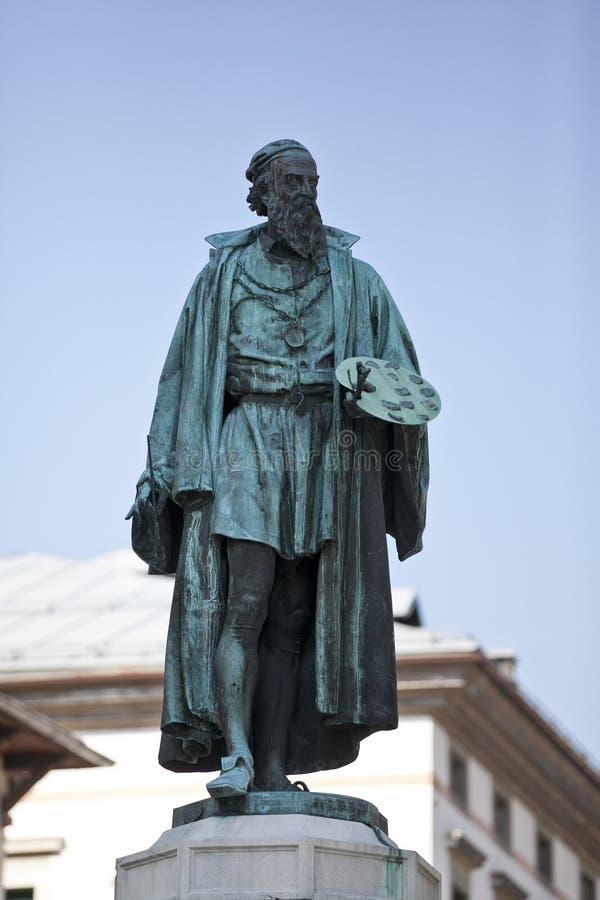 Une sculpture de Titian images libres de droits