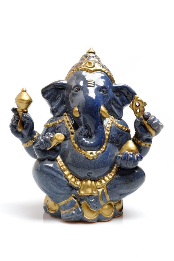 Une statue d'un seigneur indien Ganesha d'un dieu images libres de droits