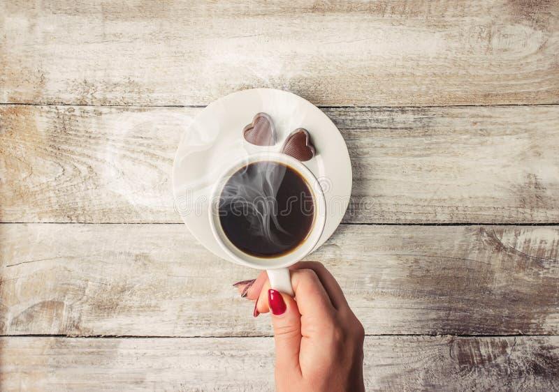 Une tasse de café boisson photographie stock libre de droits