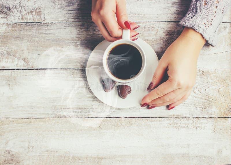 Une tasse de café boisson images stock