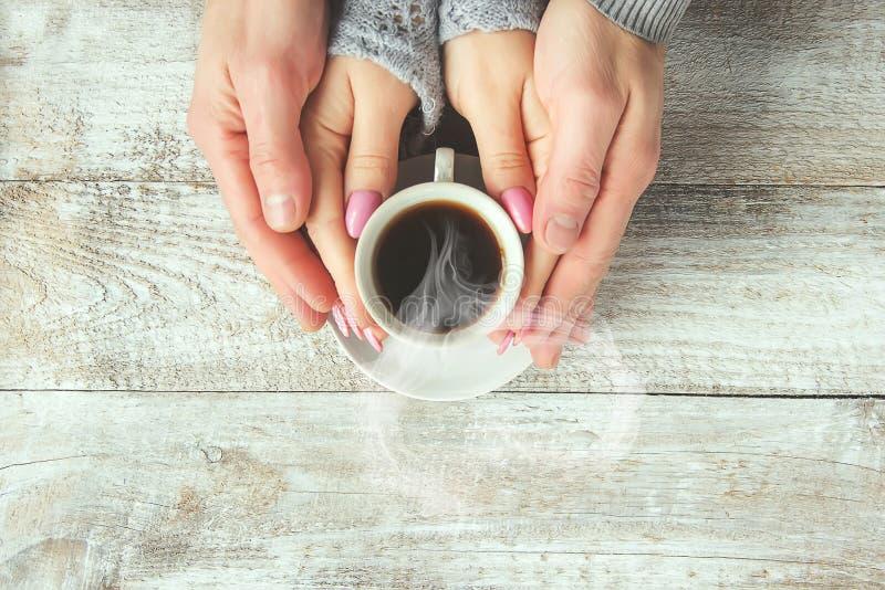 Une tasse de café boisson images libres de droits