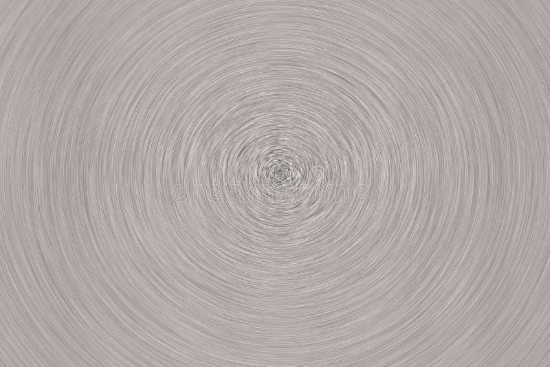 Une texture balayée en métal dans un effet de remous images stock