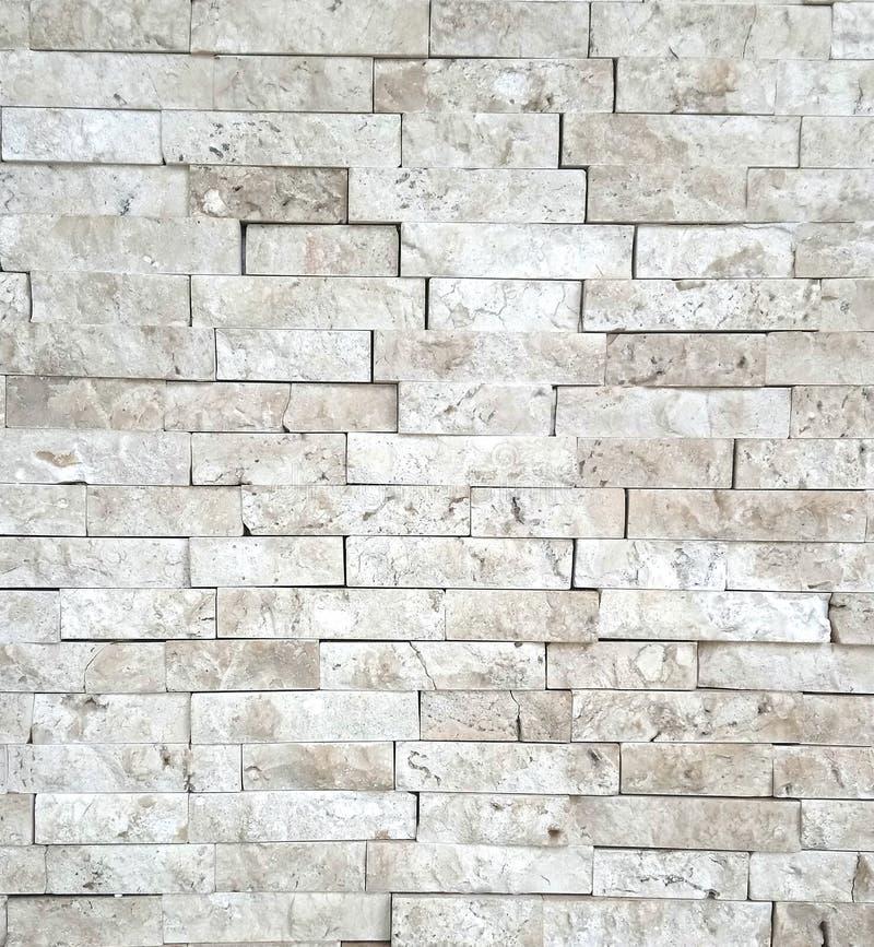Une texture blanche de mur de briques image libre de droits